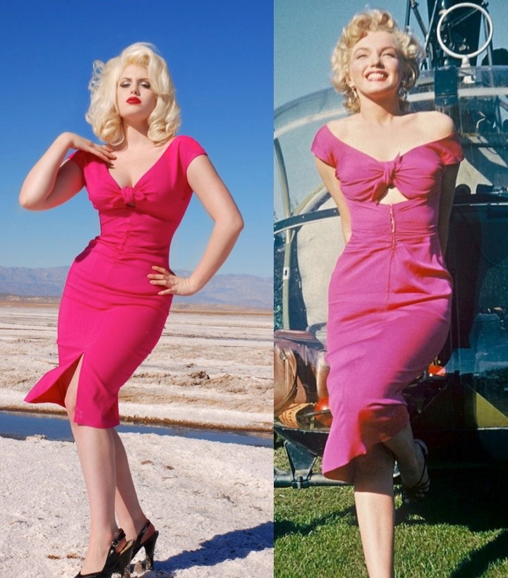 8 Dresses To Make You Look Like Marilyn Monroe - Roxy Vintage Style